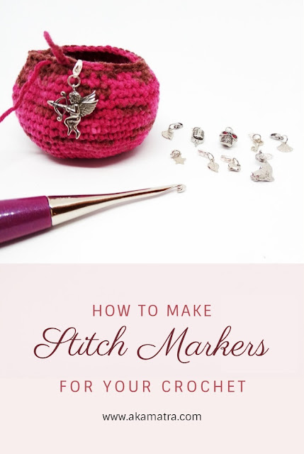 How to make crochet stitch markers
