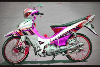 modifikasi jupiter z1 warna putih