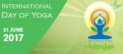 Yoga Day is celebrated annually on 21 June