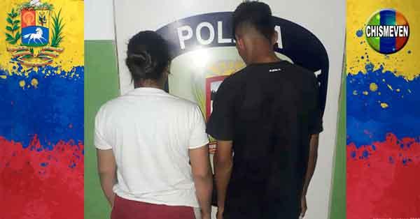 Pareja de Tukis detenidos por agredir a una mujer en Bella Vista