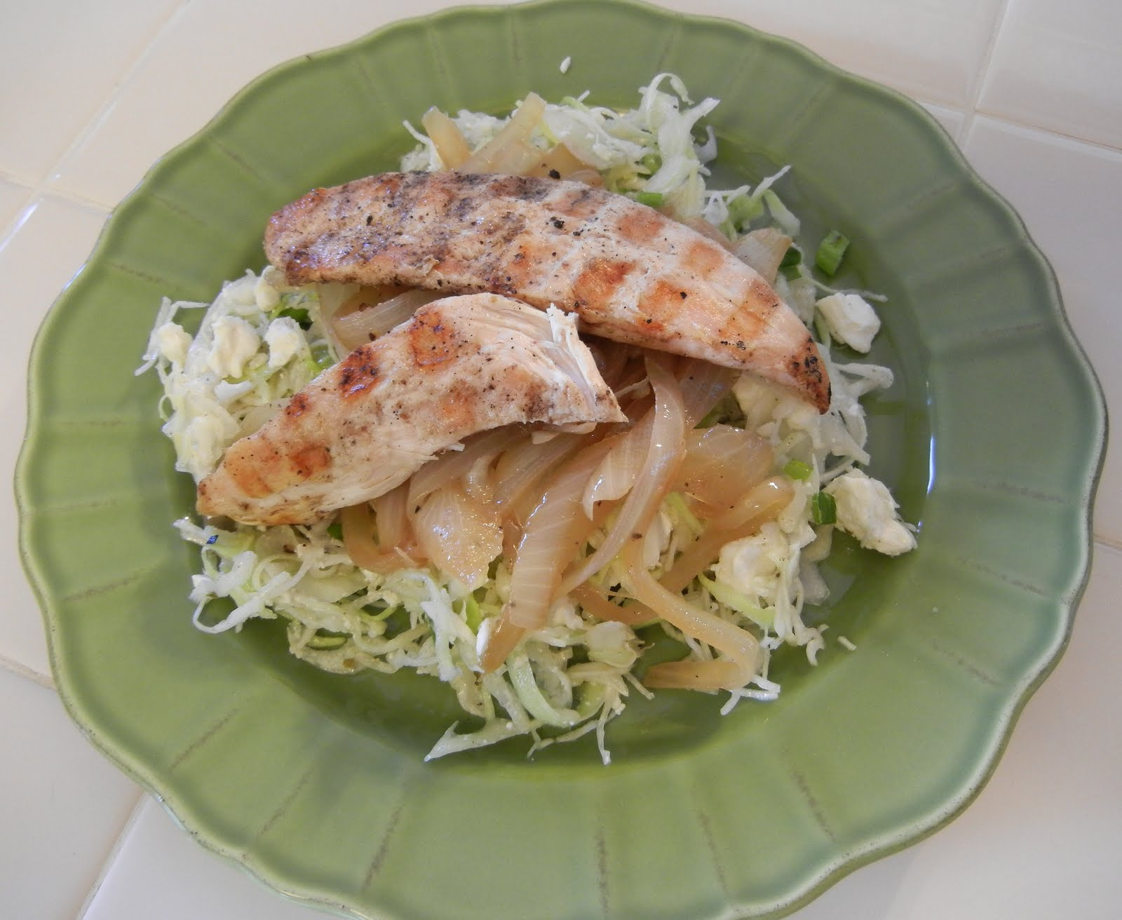 Zoe S Kitchen Protein Plate