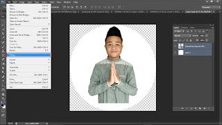 Desain Kartu Ucapan Hari Raya Photoshop