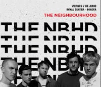 Concierto de THE NEIGHBOURHOOD en BOGOTÁ