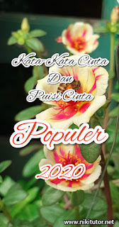 kata-kata cinta dan puisi cinta populer 2020