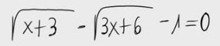 30. Ecuación irracional 1