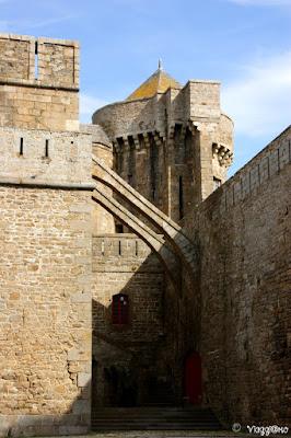Castello di Saint Malo che ospita il Museo