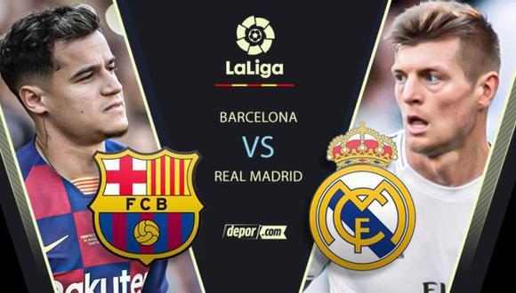 Barcelona vs. Real Madrid EN DIRECTO con goles de Ansu Fati y Fede Valverde por Clásico de España 2020