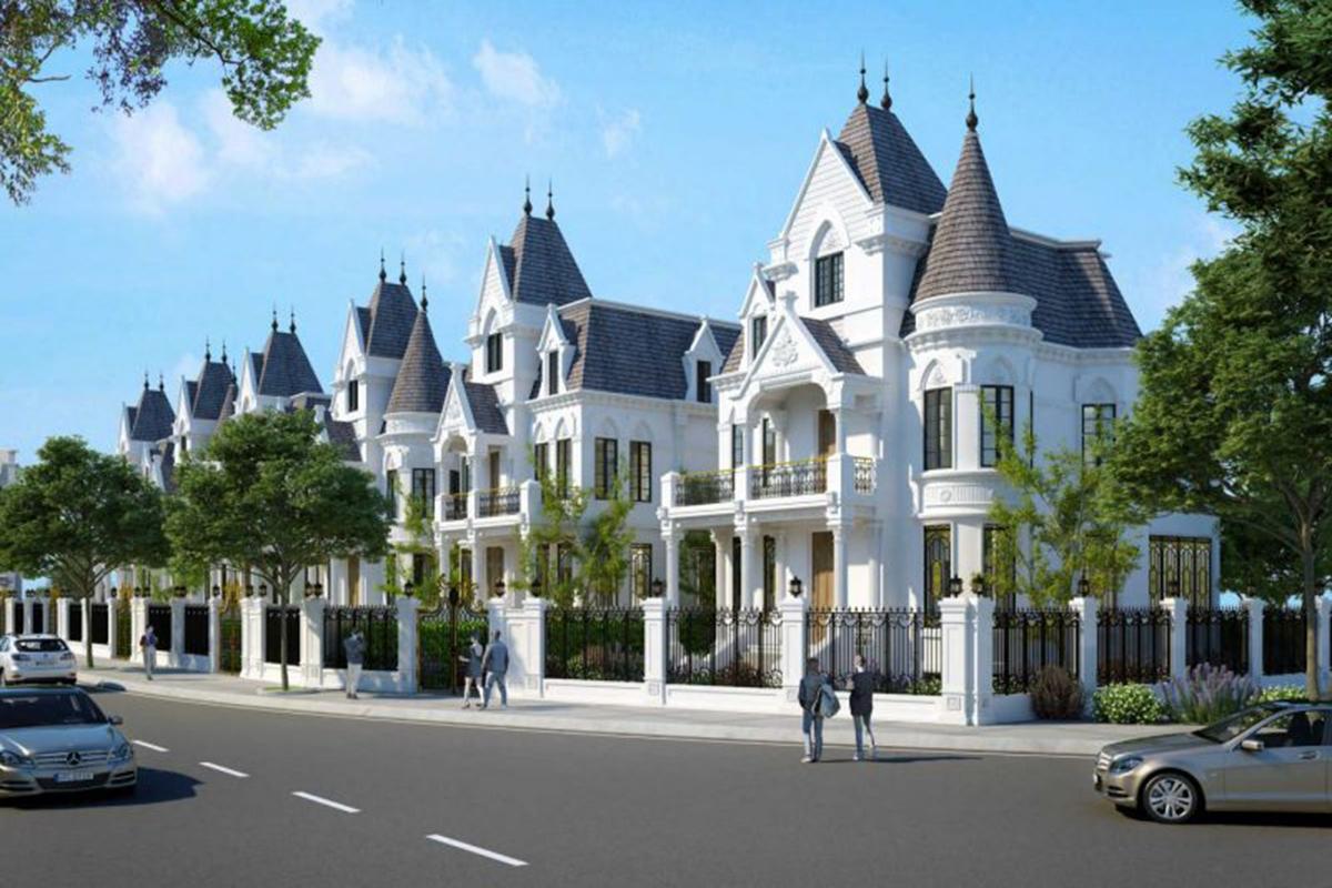 Biệt Thự lâu đài Green Center Villas