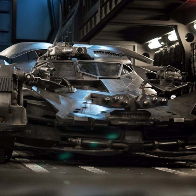 Batmobile que usará Ben Affleck en Justice League