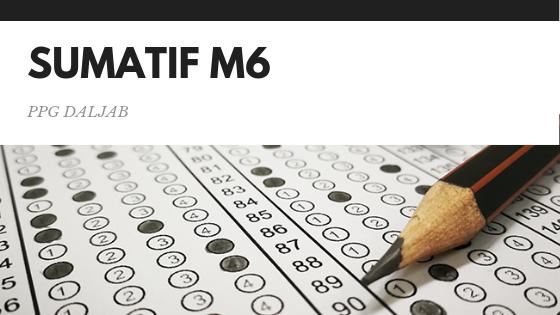 Soal dan Jawaban Tes Sumatif Modul 6 Nilai 83