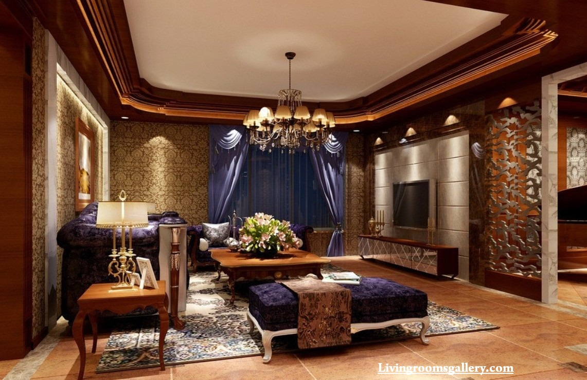 30 elegant modern pop false ceiling designs for living for Exquisite interior designs