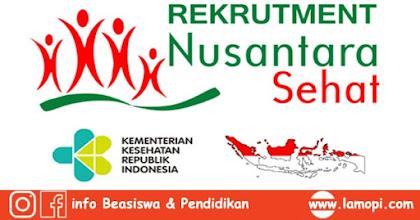 Rekrutmen Nusantara Sehat Kategori Individual Periode III Tahun 2019