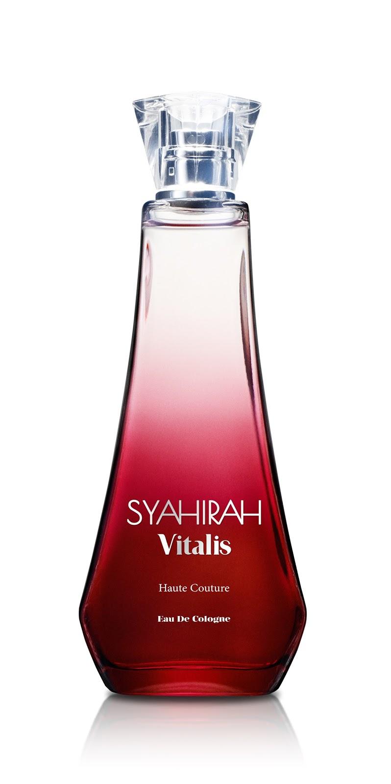 Syahirah Vitalis Eau De Cologne, perfume terbaru keluaran syahirah, harga, koleksi terbaru