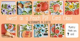 Sweet as a Peach Card Class