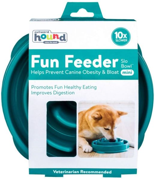 These fun slo feeder bowls help slow down your dogs eating to help improve digestion