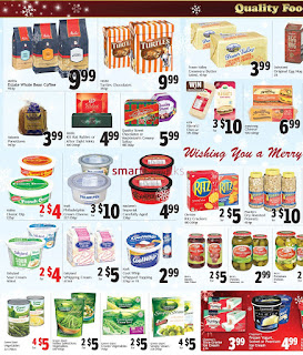 Quality Foods weekly Flyer December 18 - 24, 2017