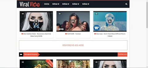 Viral Video Template Para Blog