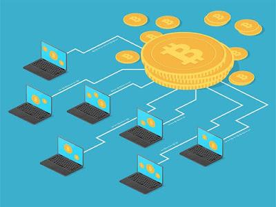 Tecnología blockchain bitcoins