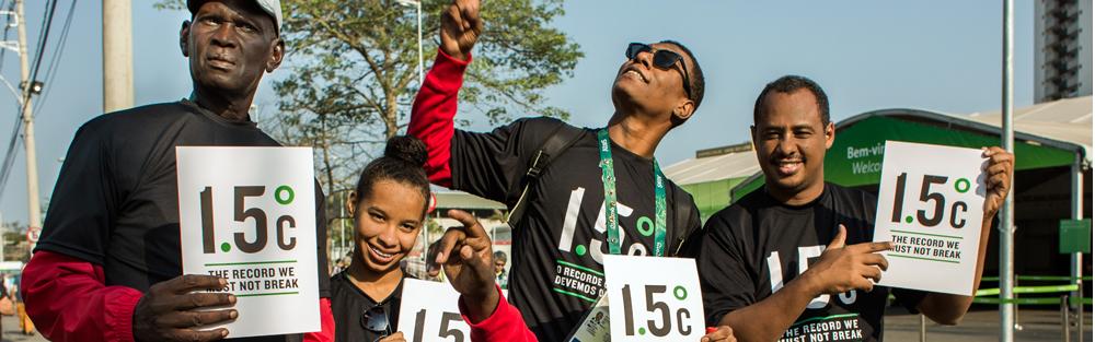 الرياضيين السودانيين يشاركون في حملة خفض الإحتباس الحراري