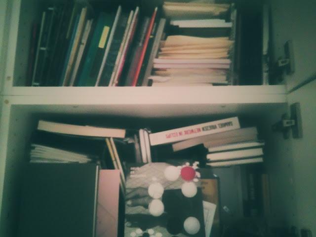 De boekenopslag van Sven Staelens