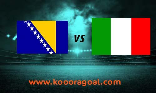 مشاهدة مباراة ايطاليا والبوسنة والهرسك كورة جول بث مباشر 4-9-2020 دوري الأمم الأوروبية