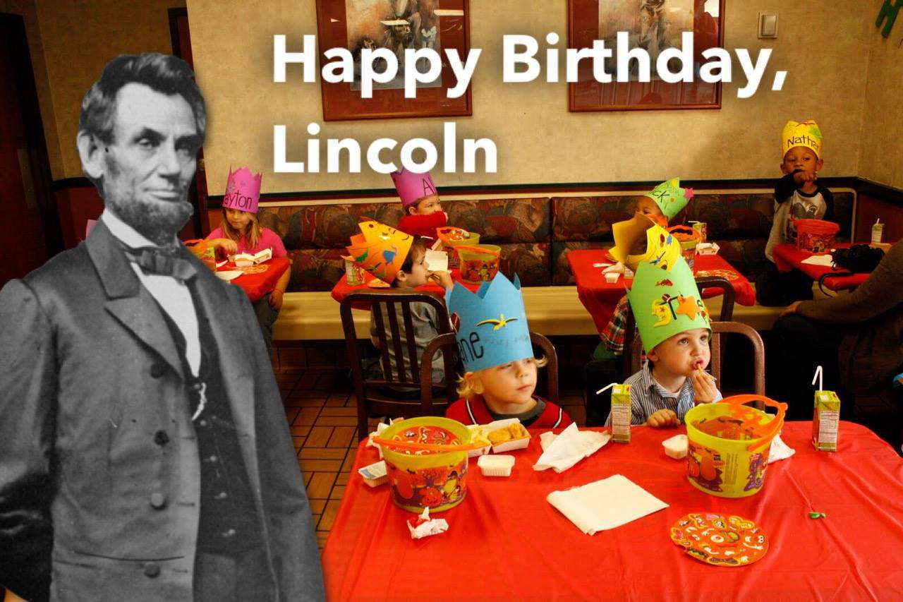 Abraham Lincoln's Birthday Wishes Photos