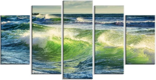 Turquoise Ocean Wave Photo Print