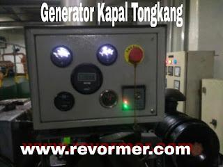 Manual Instruction Generator Kapal Tongkang  Oil Barge