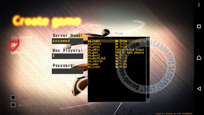 Install game Counter Strike v1.6 apk data