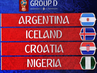 Group D Teams FIFA World Cup 2018 Russia