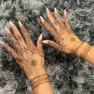 Arabic Mehndi Designs For Back Side Of Hand