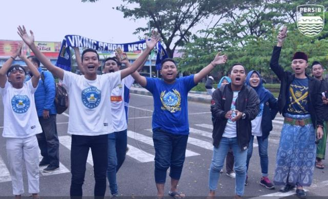 Pesib Disambut Bobotoh Viking School Indonesia di Malang