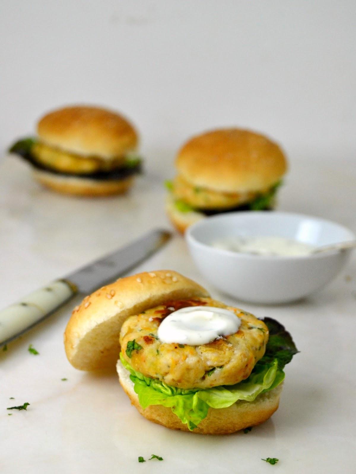 Hamburguesas caseras de pollo con verduras cuuking - Hamburguesa de verduras ...
