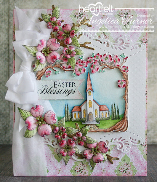 New Flowering Dogwood Collection from Heartfelt Creations