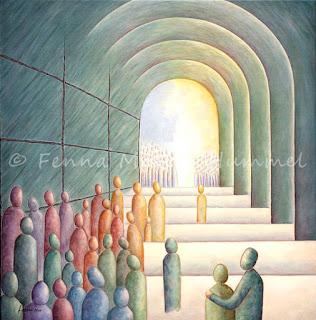 Bijbels schilderij Kinderen van het licht