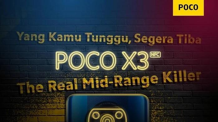 15 Oktober, POCO X3 NFC Rilis Resmi di Indonesia