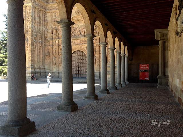 Salamanca rincones pórtico San Esteban