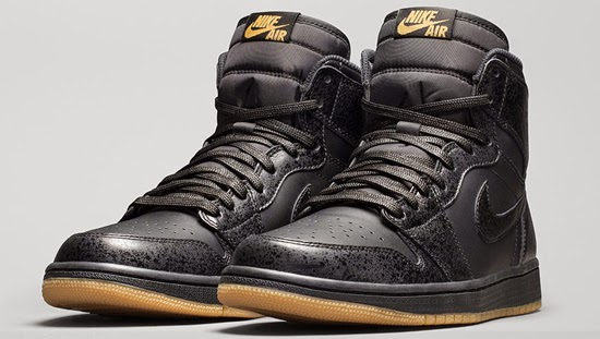 2835e52000e The Air Jordan 1 Retro High OG is back in a new clean look for the winter.  This pair comes in black, black and gum light brown. They feature a black  based ...