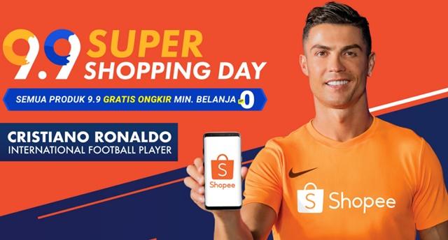 Iklan Terbaru Shopee Menampilkan CR7 Joget - shopee.co.id