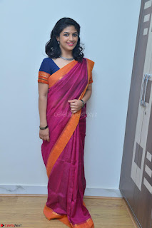 Supriya in Pink Saree Spicy Pics 004.JPG