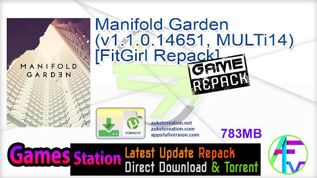 Manifold Garden (v1.1.0.14651, MULTi14) [FitGirl Repack]