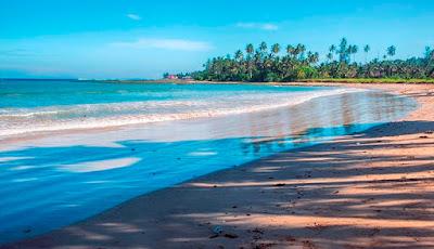 pantai di sumatra utara