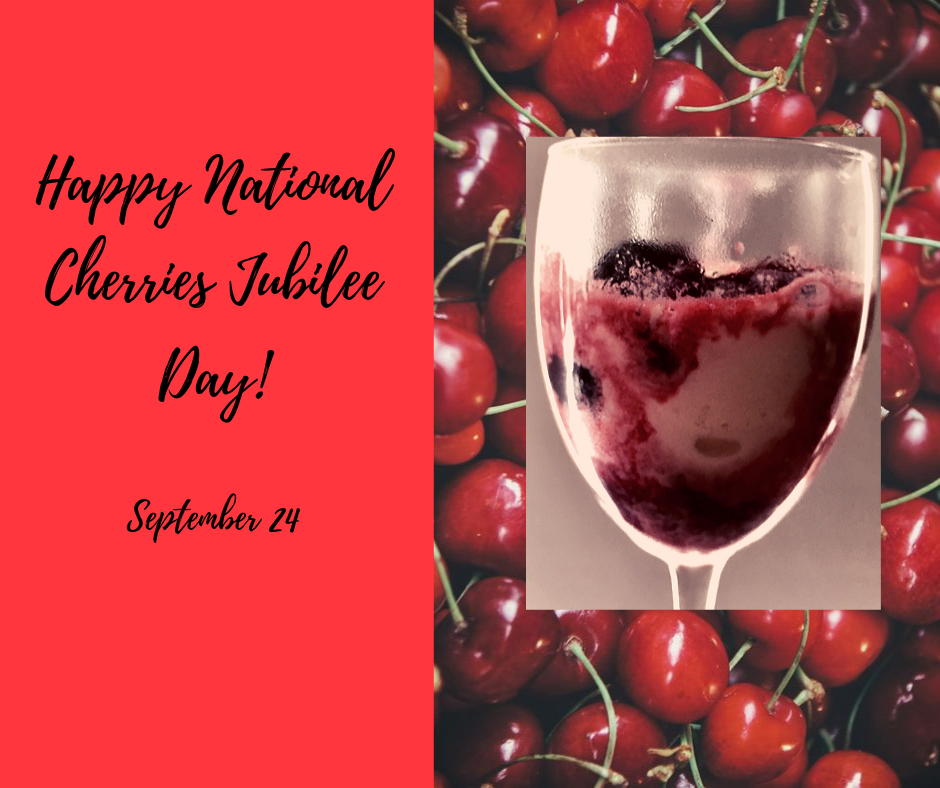 National Cherries Jubilee Day Wishes Sweet Images