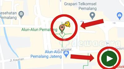 Pilih Lokasi dan Jalankan Aplikasi Fake GPS