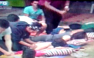 PBB UnliDAY: Kim De Guzman gets a massage from Paco Evangelista