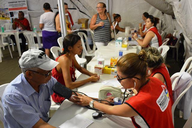 Hospital de Campanha oferece diversidade de serviços durante 'Caravana Mais Saúde'