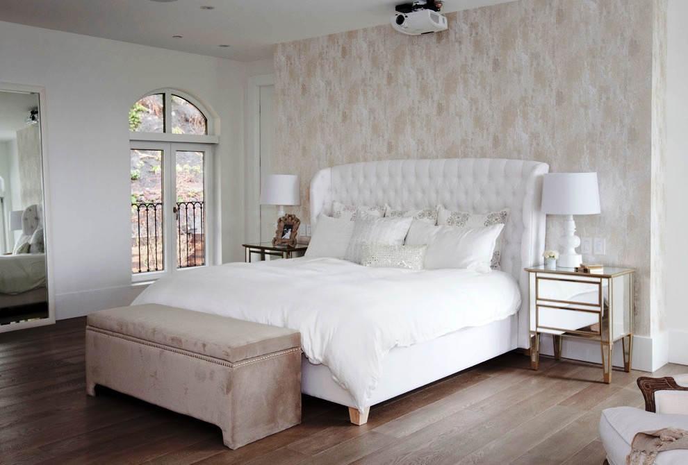 Model Desain Kamar Tidur Romantis Sederhana