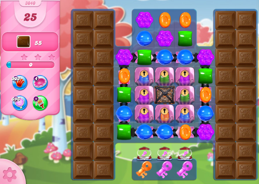 Candy Crush Saga level 3040