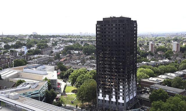 Asciende a 30 los fallecidos por incendio en Londres
