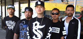 Pandilla asiática de Los Ángeles